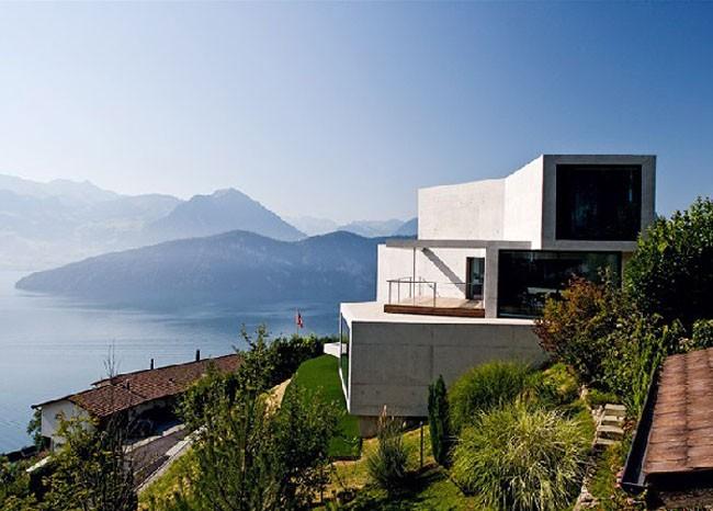 Villa Am See Swiss Villa Of James Bond Modern Buildings