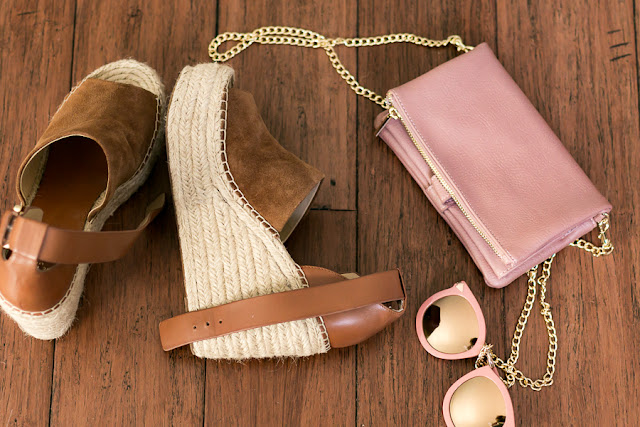 wedges pink sunglasses mauve cross body spring staples
