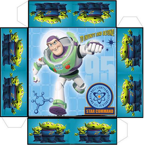 Kit De Buzz Light Year De Toy Story Para Imprimir Gratis