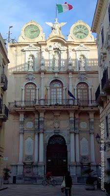 Trapani Palazzo Cavarretta guia brasileira roma - Trapani, o sal e o vinho.