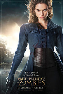 lily james,傲慢與偏見與殭屍,Pride and Prejudice and Zombies