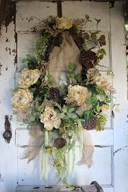 rustic elegant wreath