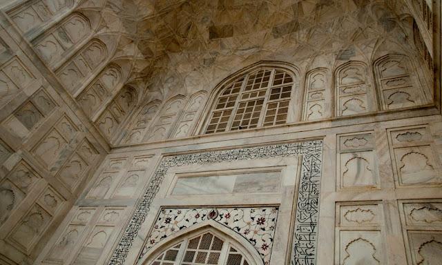 Detalles Taj Mahal