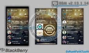 BBM Mod GorankPathTooth Transparan V2.13.1.14 Apk