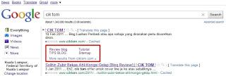 google site link blog cik tom