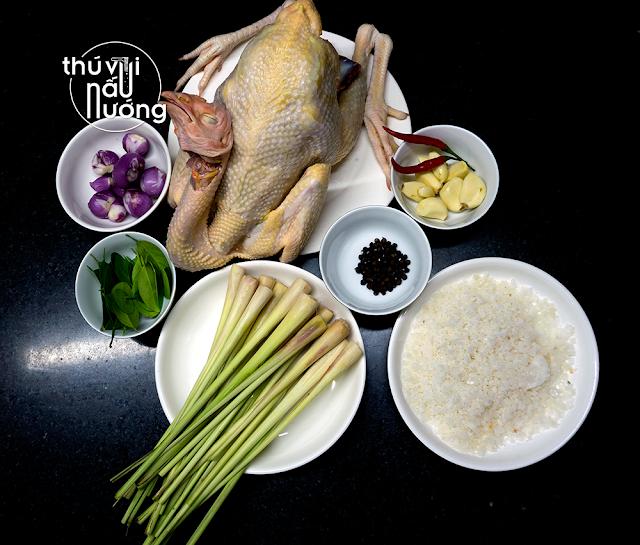 Cách làm gà hấp muối