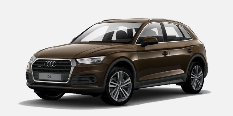 Audi Q5 II (2018) - Couleurs / Colors