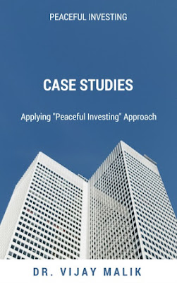 "Free e-book, Case Studies: Applying Peaceful Investing Approach, Stock analysis"" width="