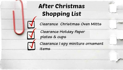 Christmas Clearance Shopping