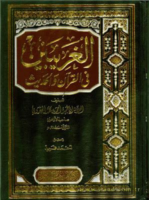 الغريبين في القرآن والحديث - أبو عبيد الهروي صاحب الأزهري