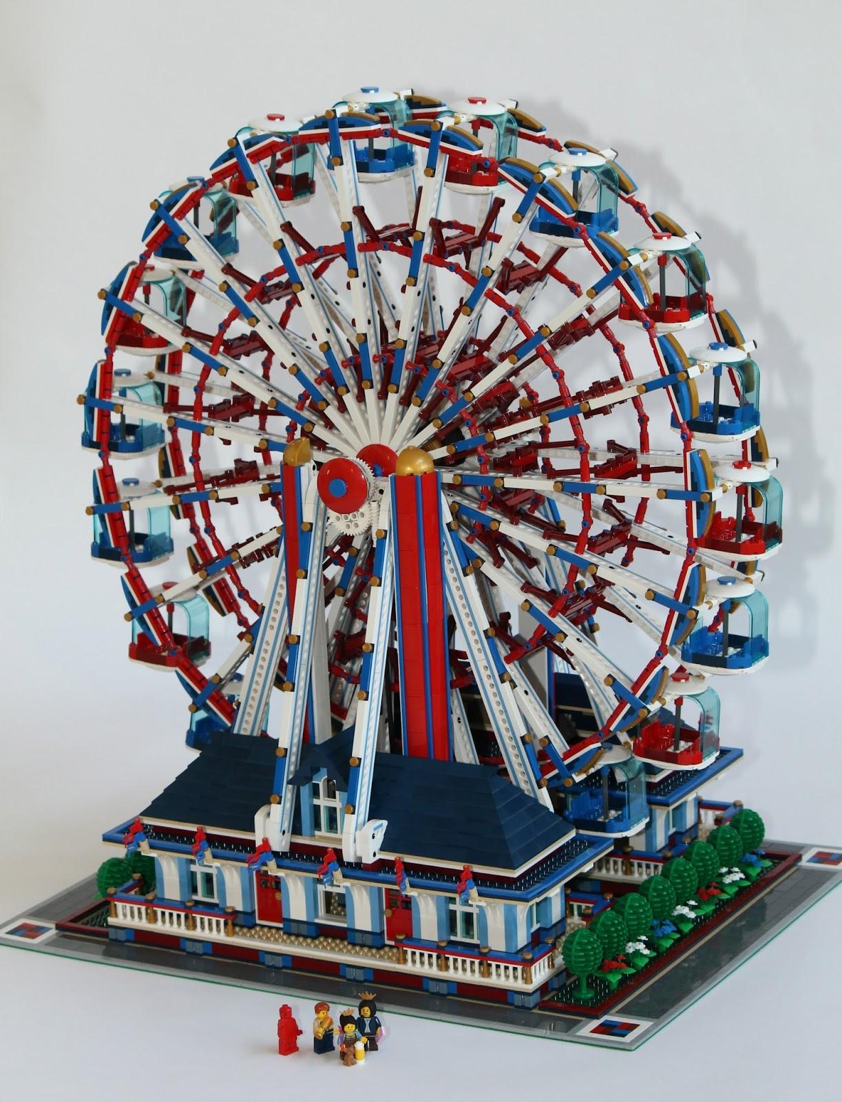 DeToyz Shop: Lego MOC - Ferris Wheel