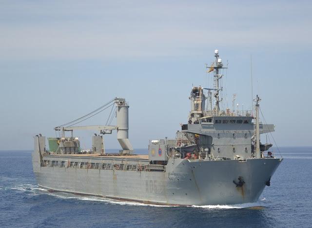 El buque A-05 'El Camino Español' se reincorpora al servicio tras una inmovilización programada