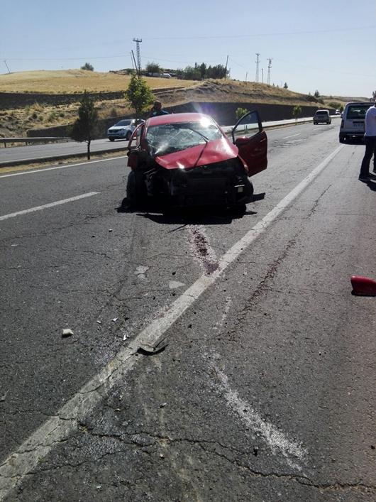 Çınar Diyarbakır arasında kaza: 1 yaralı