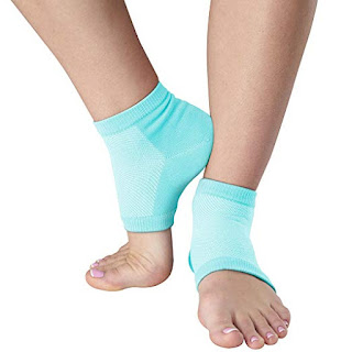 natracure vented moisturizing gel heel sleeves