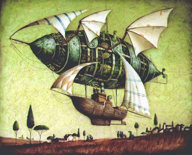 28-Vladimir-Gvozdev-Surreal-Steampunk-Animal-Drawings-www-designstack-co