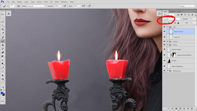 35 Design cover buku Novel dengan Photoshop CC part2