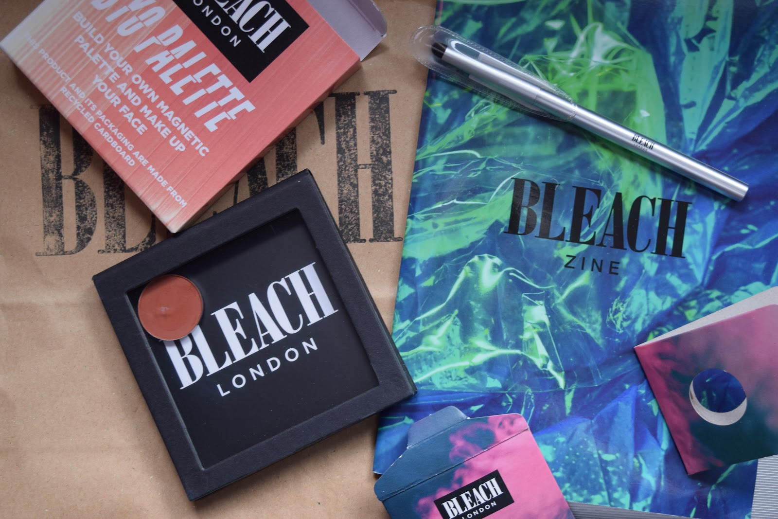 Bleach London makeup