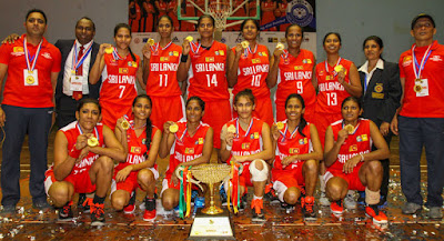 nepal vs sri lanka south Asian women's basketball final