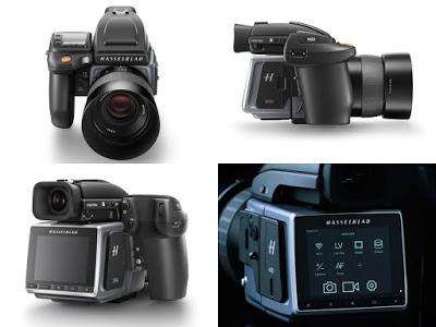 Tampilan design kamera DSLR Hasselblad H6D-100C