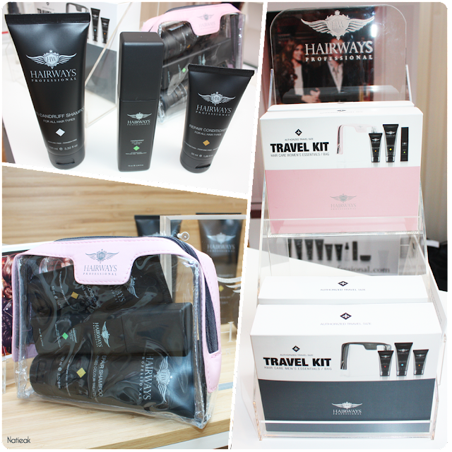 travel kit capillaire de Hairways Professional