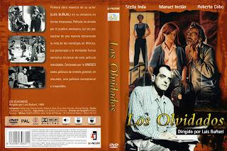 Carátula: Los olvidados (1950)