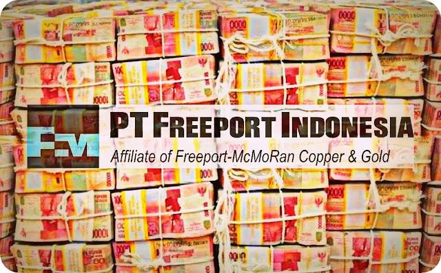 PT Freeport Indonesia Setor Pajak Rp1,1 Triliun ke Pemda Mimika