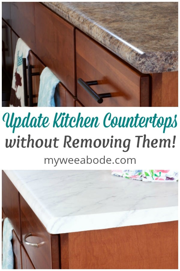 Update kitchen counters without replacing