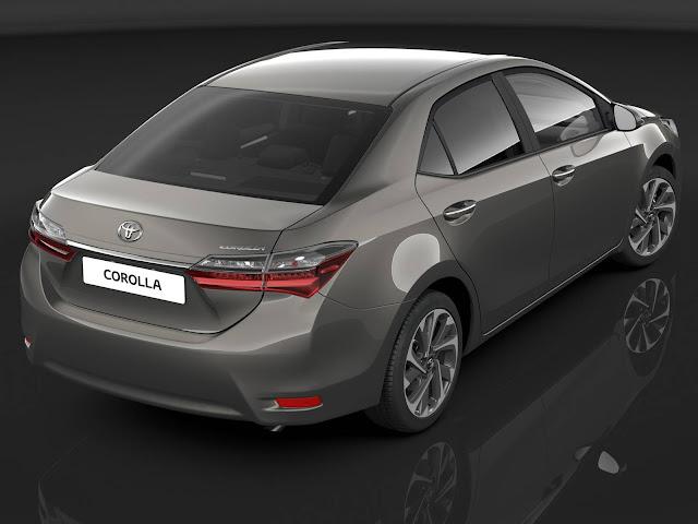 Novo Toyota Corolla 2017