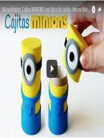 http://manualidadesreciclajes.blogspot.com.es/2016/11/caja-minion-con-rollo-de-papel-higienico.html