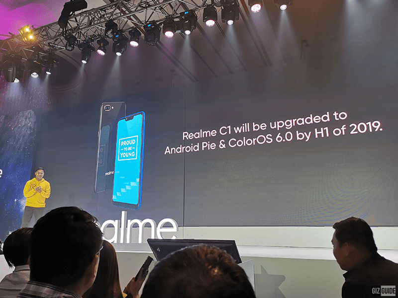 Realme C1 to receive Android Pie and ColorOS 6.0 update by H1 2019