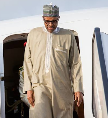 president buhari returns nigeria london
