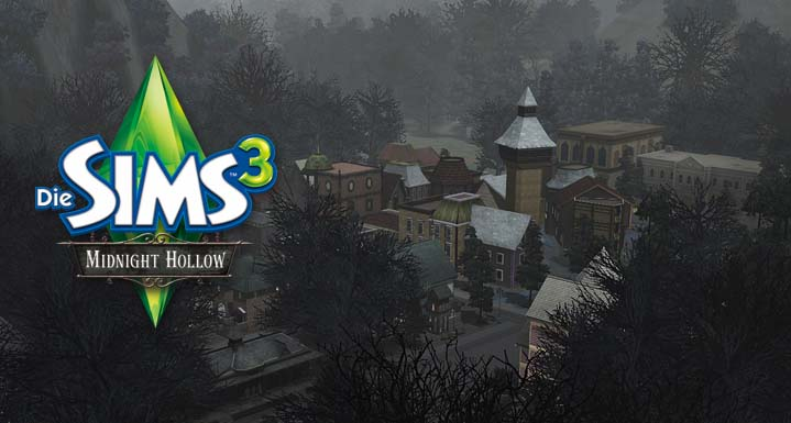 Sims 3 Free Downloads : The Sims 3 Midnight Hollow *Gold