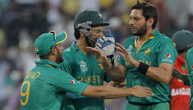 Pakistan beat Bangladesh by 55 runs in their ICC World Twenty20 opener