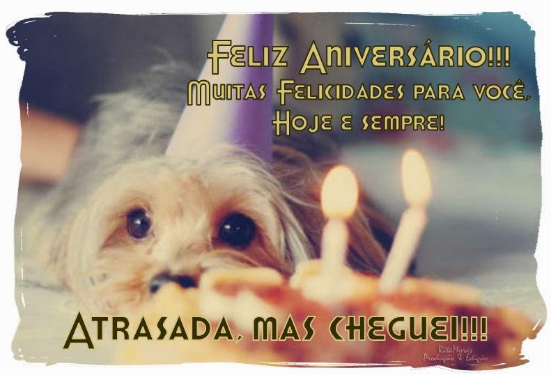 Mensagem De Aniversario Com Cachorro