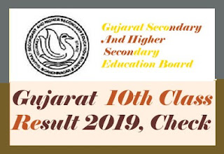 GSEB SSC Results 2019, GSEB 10th Results 2019, Gujarat Board SSC Results 2019