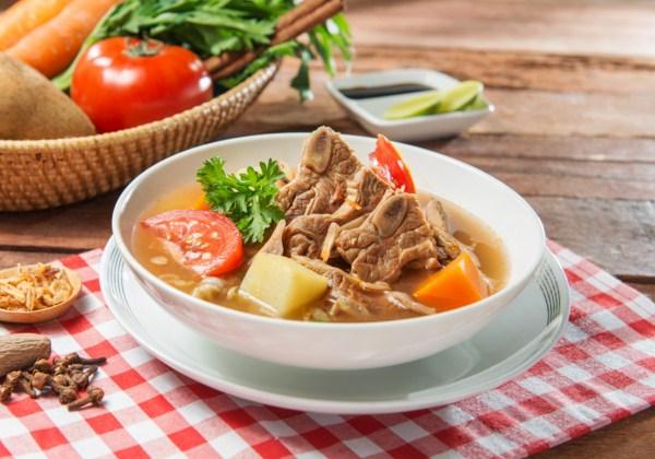 Resep Sop Iga Sapi Sederhana, Cara Membuat Sop Iga Sapi Bening Sederhana