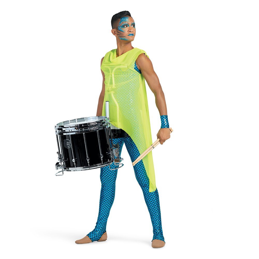 Great option for performers that wear a hardness