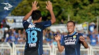 Persib Bandung Menang 6-0 atas Persikotas Tasikmalaya