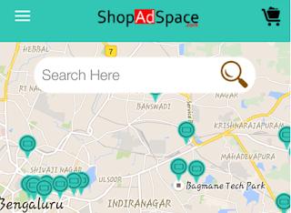ShopAdSpace app