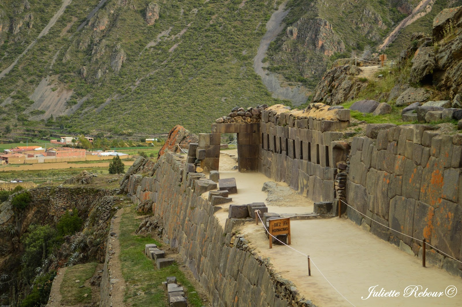 Ruines d'Ollantaytambo, Pérou