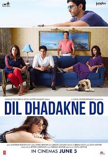 Dil Dhadakne Do 2015 Hindi 720p BluRay 1GB