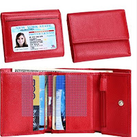 Women's Small Trifold RFID Blocking Wallet