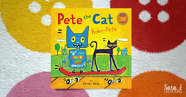 Pete the Cat Robo Pete for learning about letter R