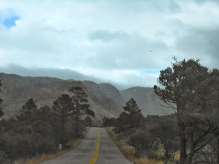 entrance to chiricahua national monument winter