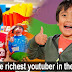 The Richest Youtuber in the World is an Eight-Year-Old Child