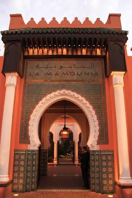 Hotel la Mamounia en Marrakech