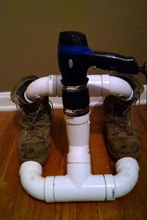 DIY Boot Dryer