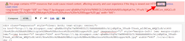 fix your https errors in blogger