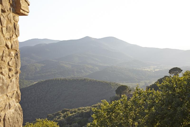 Il Baciarino Agriturismo in Vetulonia Maremma simple rustic cabins in nature