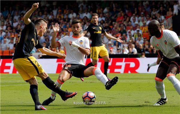 اهداف اتلتيكو مدريد وفالنسيا